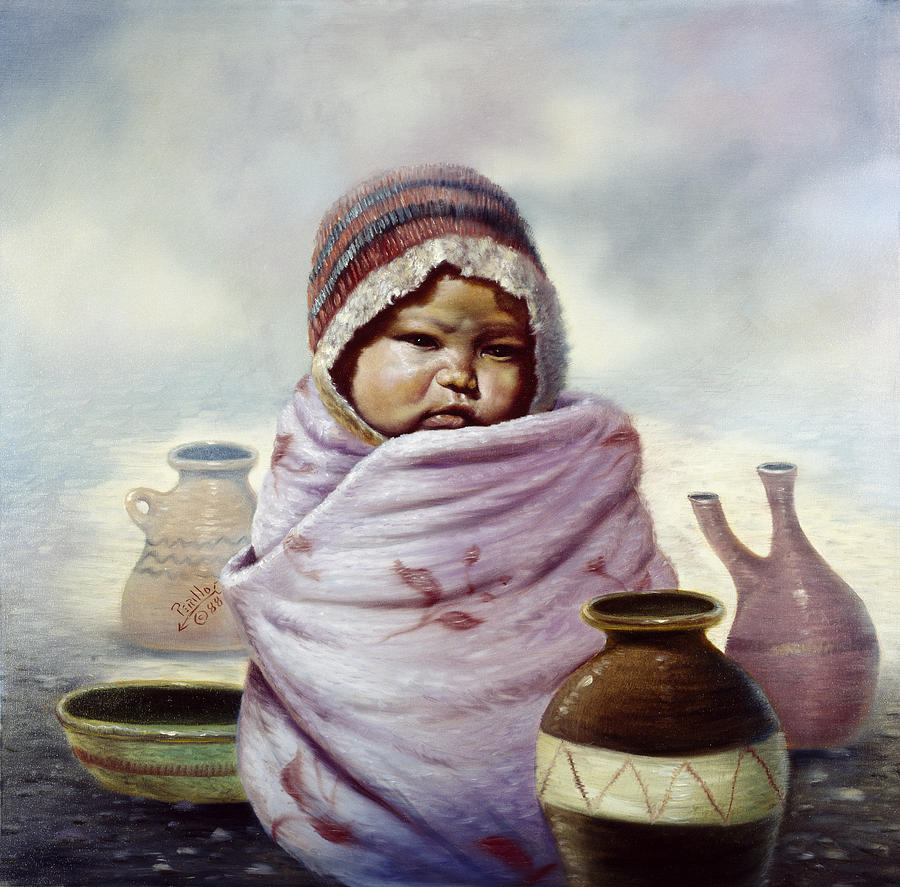 Gregory Perillo Painting - The Bundle by Gregory Perillo