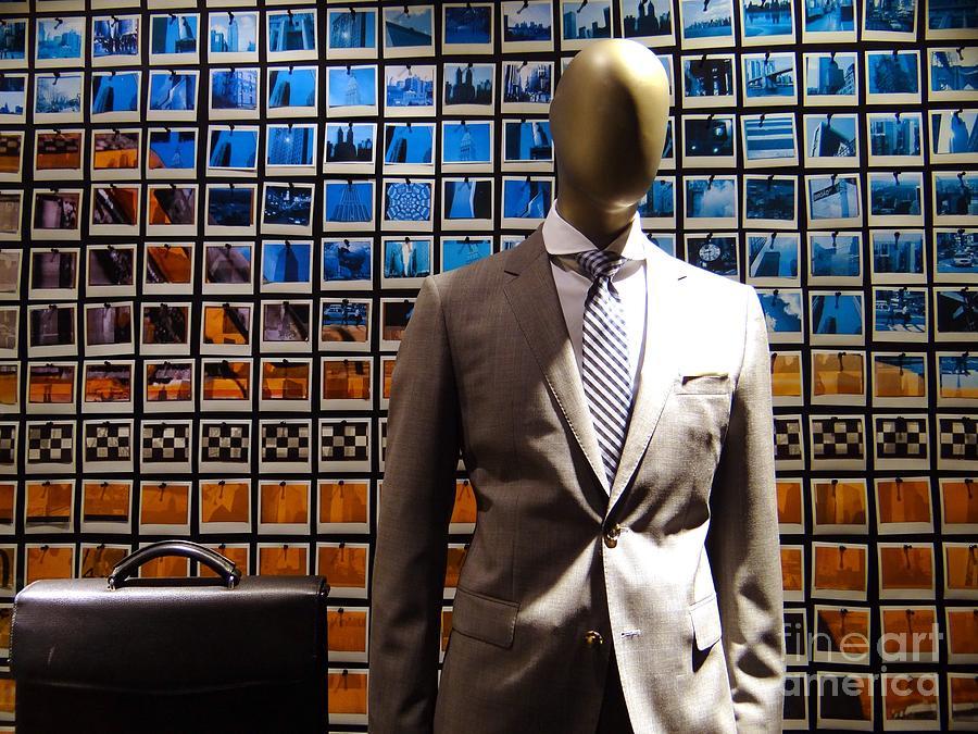 Mannequin Photograph - The Businessman by Ed Weidman