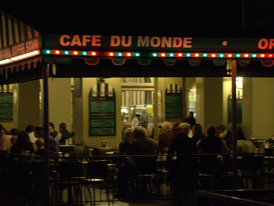 Café Photograph - The Cafe by Anthony Walker Sr