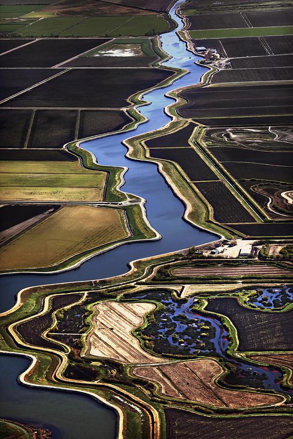 California Delta Photograph - The California Delta by Adrian Mendoza