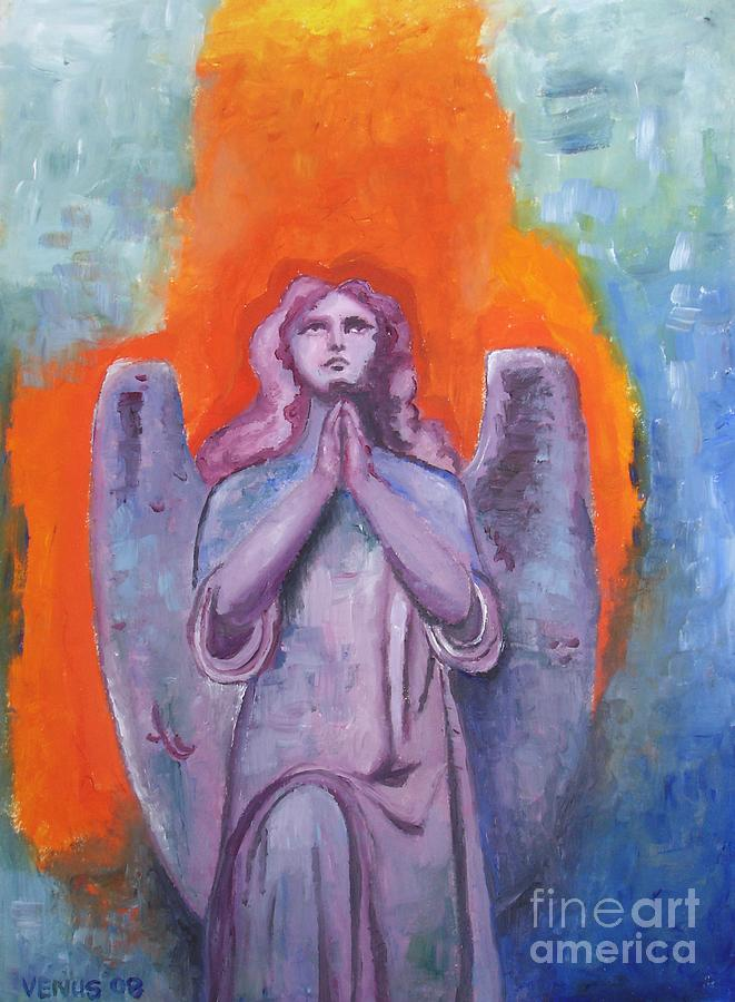 Angel Painting - The Calling by Venus