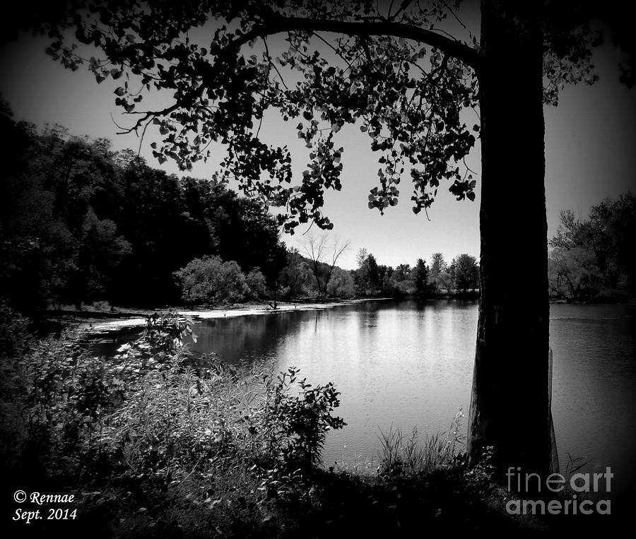 Waterscape Photograph - The Calm by Rennae Christman