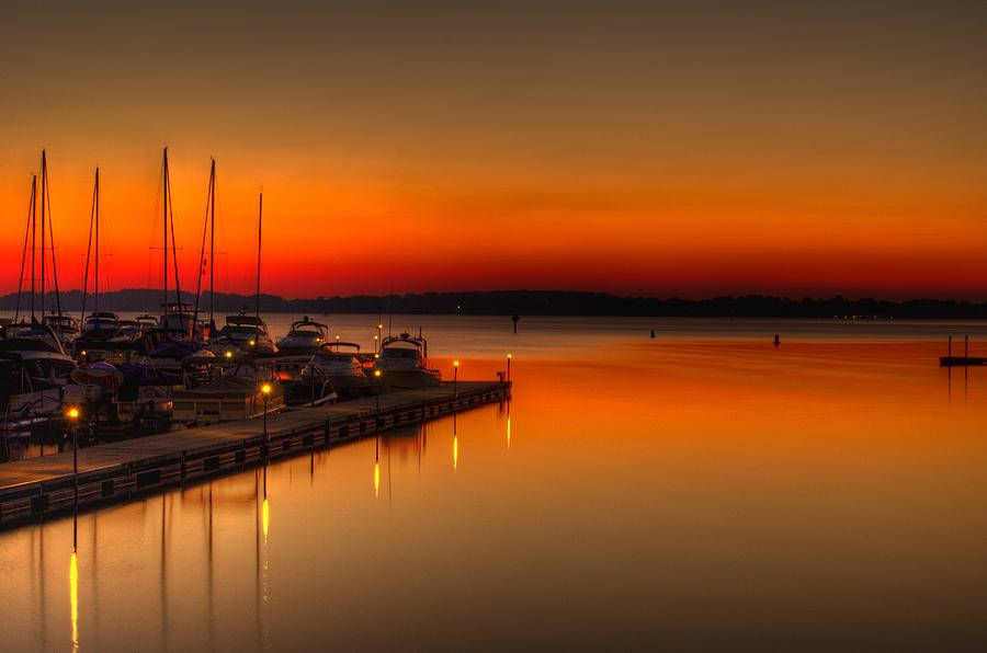 Lake Photograph - The Calm by Serge Skiba