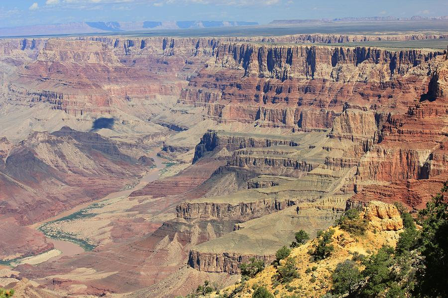 Landscapes Photograph - The Canyon Desert View by Douglas Miller