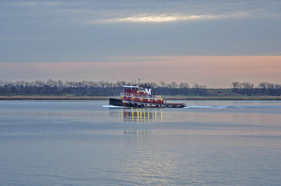 Tug Photograph - The Cape May by Donnie Smith