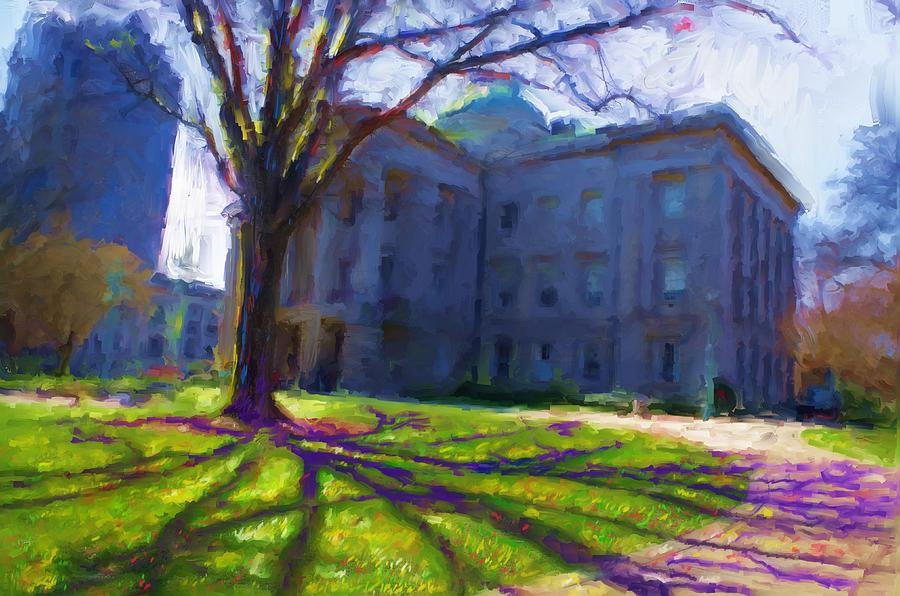 The Capitol Painting - The Capitol by Preston Sandlin