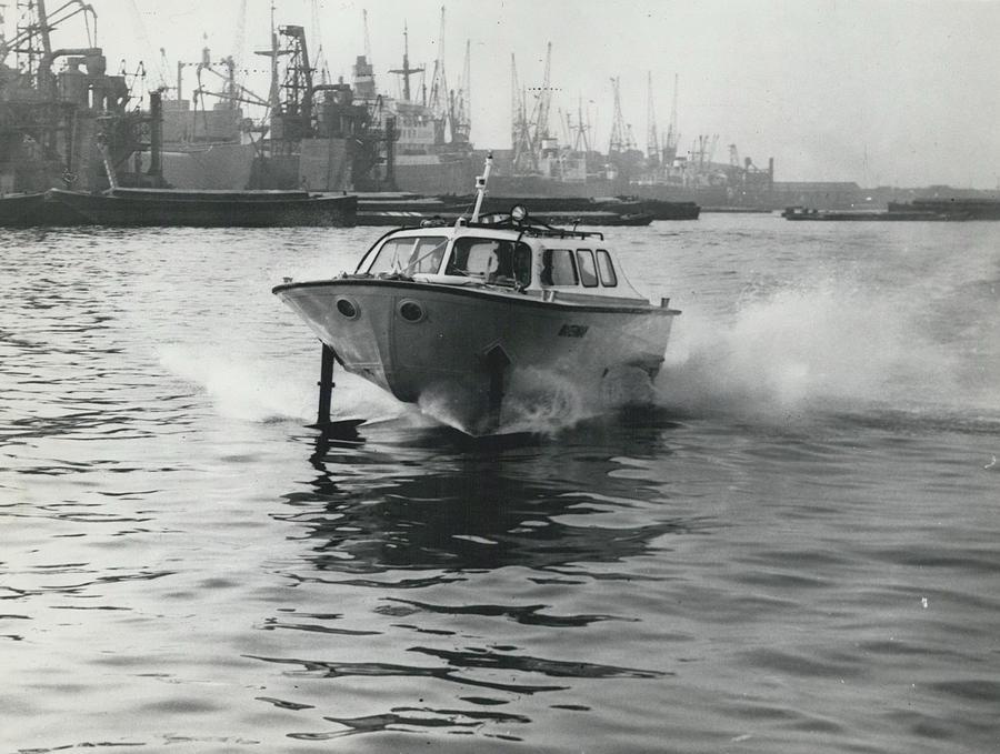 Retro Photograph - The �captain�s Barge� - 1963 Version by Retro Images Archive