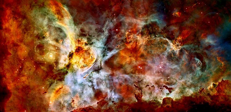 Space Photograph - The Carina Nebula by Amanda Struz
