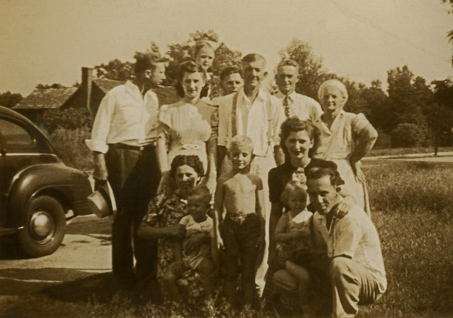 The Carter Family Photograph By Thomas D Mcmanus