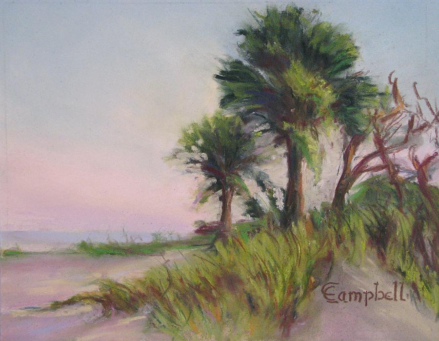 Beach Painting - The Castaways by Cecelia Campbell