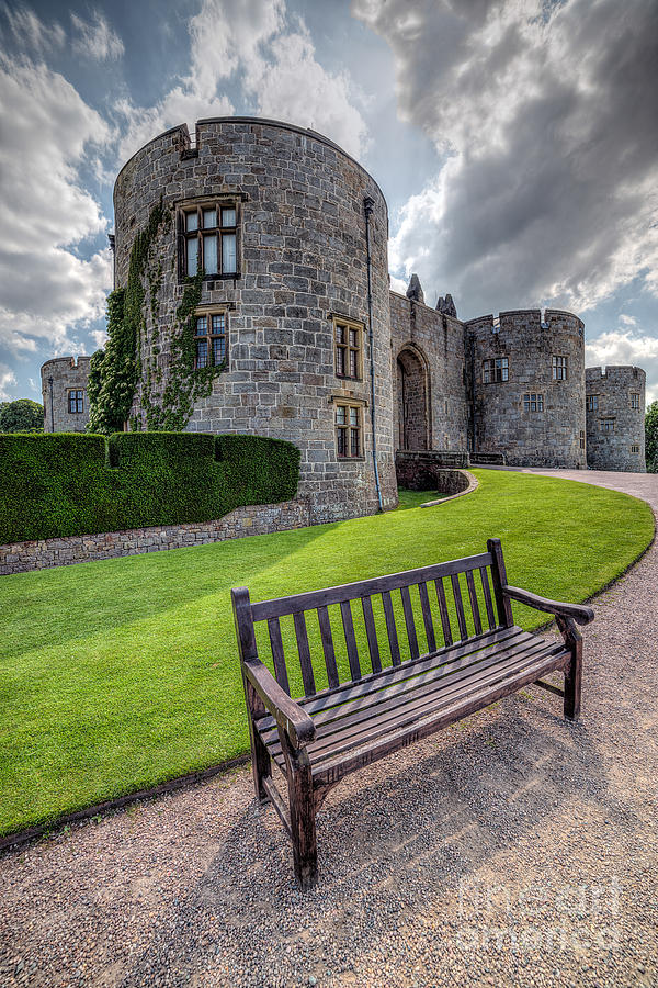 Hdr Photograph - The Castle Bench by Adrian Evans