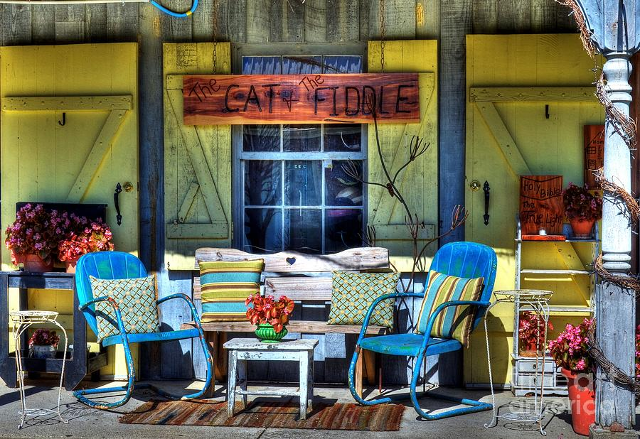 Cityscapes Photograph - The Cat And The Fiddle by Mel Steinhauer