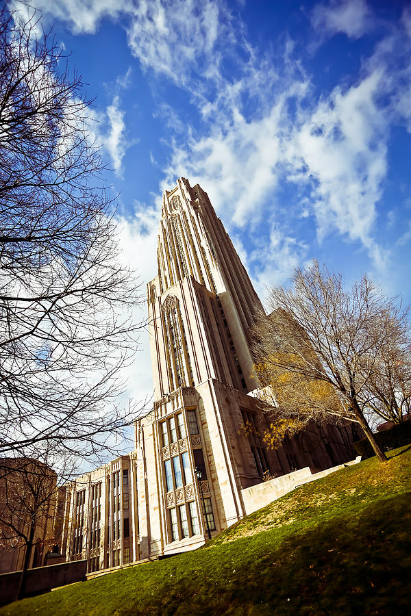 The Cathedral Of Learning 1 Photograph by Jimmy Taaffe