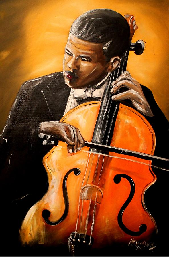 The Cello Player by Henry Blackmon