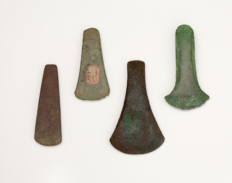 Axes Photograph - The Celt Flat Axe Copper To Bronze Age by Paul D Stewart