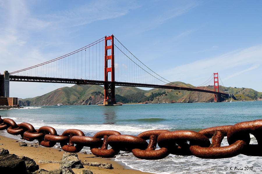 The Chain on the Gate by Ken Arcia