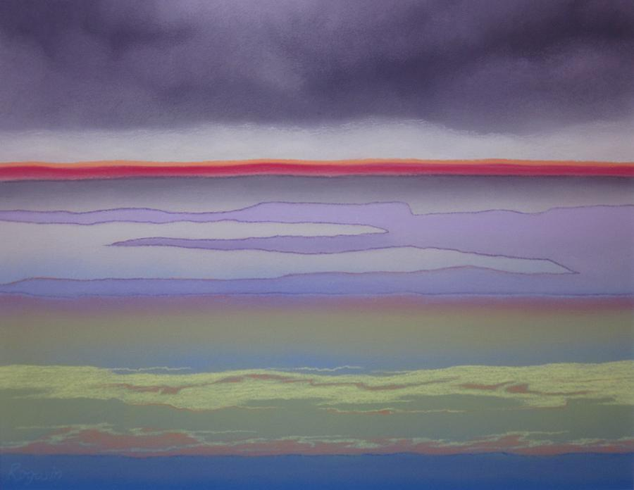 Color Pastel - The Changing Skies by Harvey Rogosin