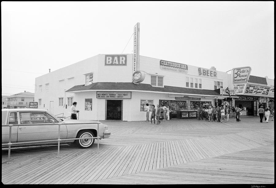 Jersey Shore Photograph - The Chaterbox 1981 by David Riccardi