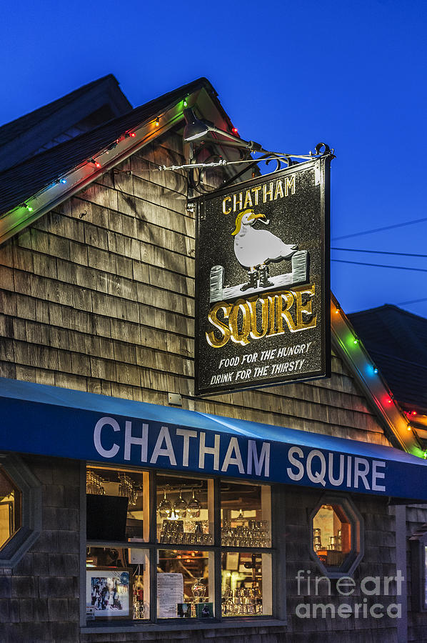 Business Photograph - The Chatham Squire by John Greim