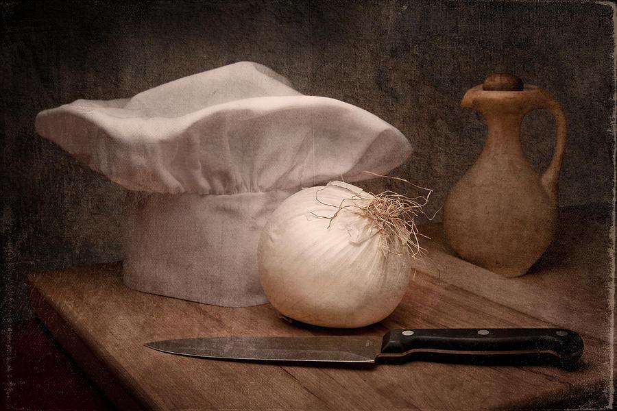Food Service Photograph - The Chef by Tom Mc Nemar