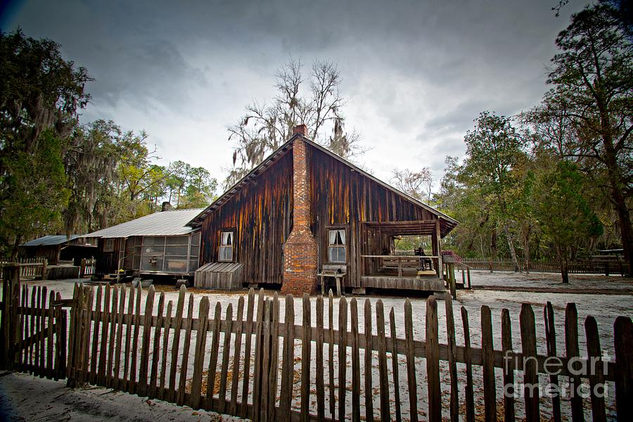 Okefenokee Photograph - The Chesser Homestead by Southern Photo
