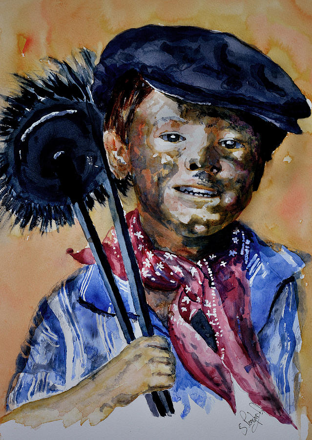 The chimney sweep by Steven Ponsford