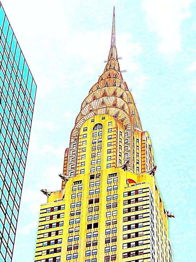 Chrysler Building Photograph - The Chrysler Building by Ed Weidman