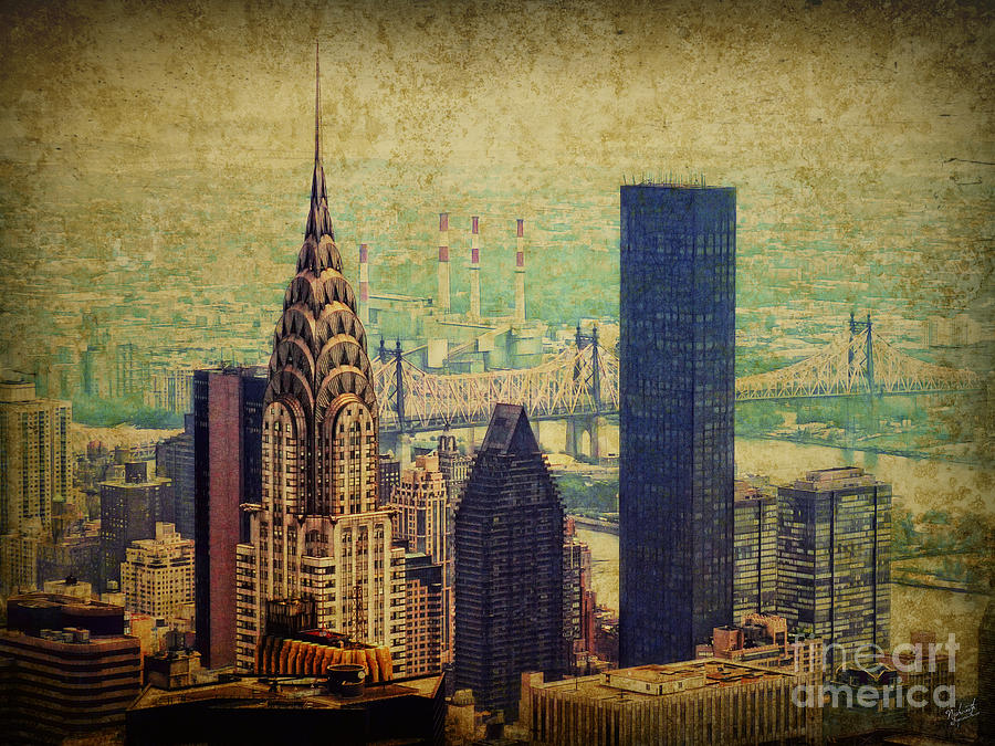 New York Skyline Photograph - The Chrysler by Nishanth Gopinathan