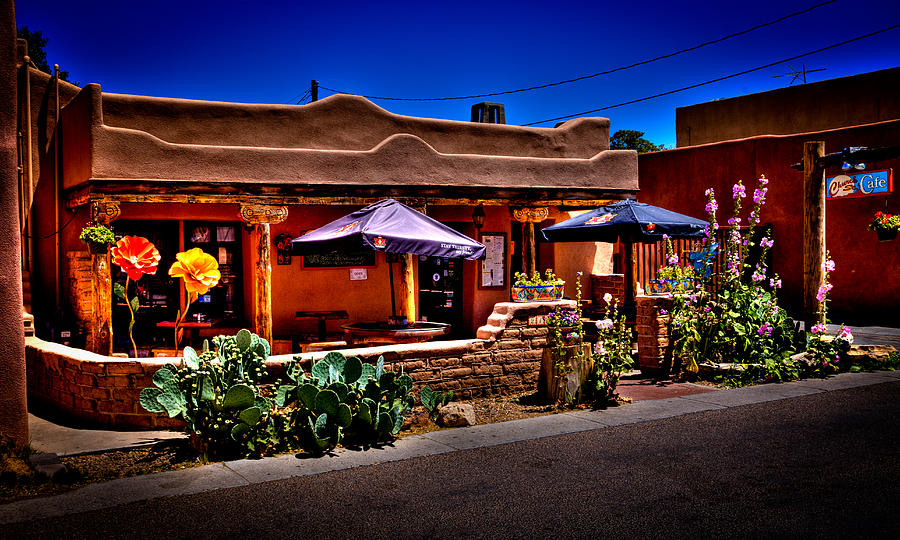 New Mexico Photograph - The Church Street Cafe - Albuquerque New Mexico by David Patterson