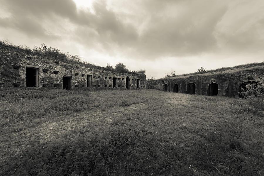 Fort Macomb Photograph - The Citadel At Fort Macomb by David Morefield