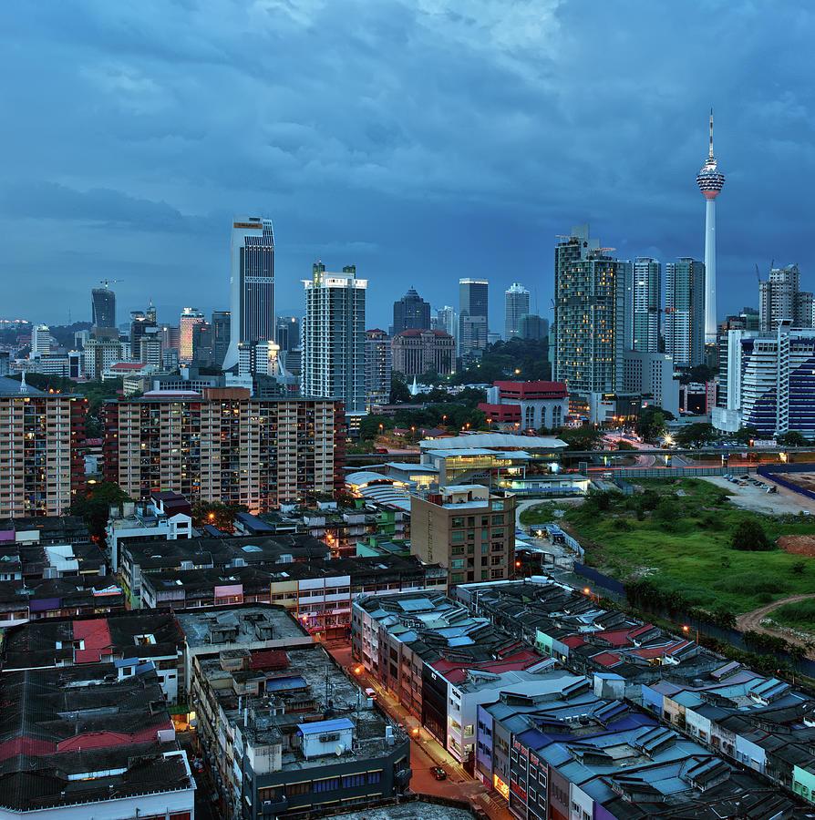 The City Of Kuala Lumpur Photograph by Artisticslice