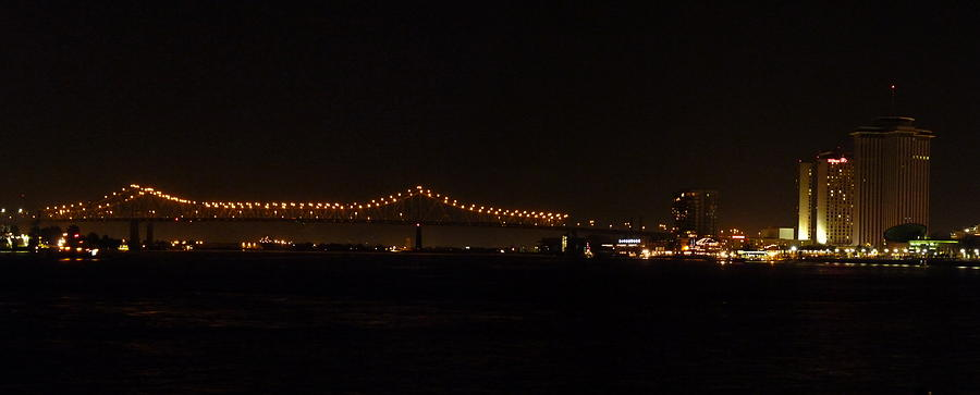 Cityscape Photograph - The Cityscape At Night by Anthony Walker Sr