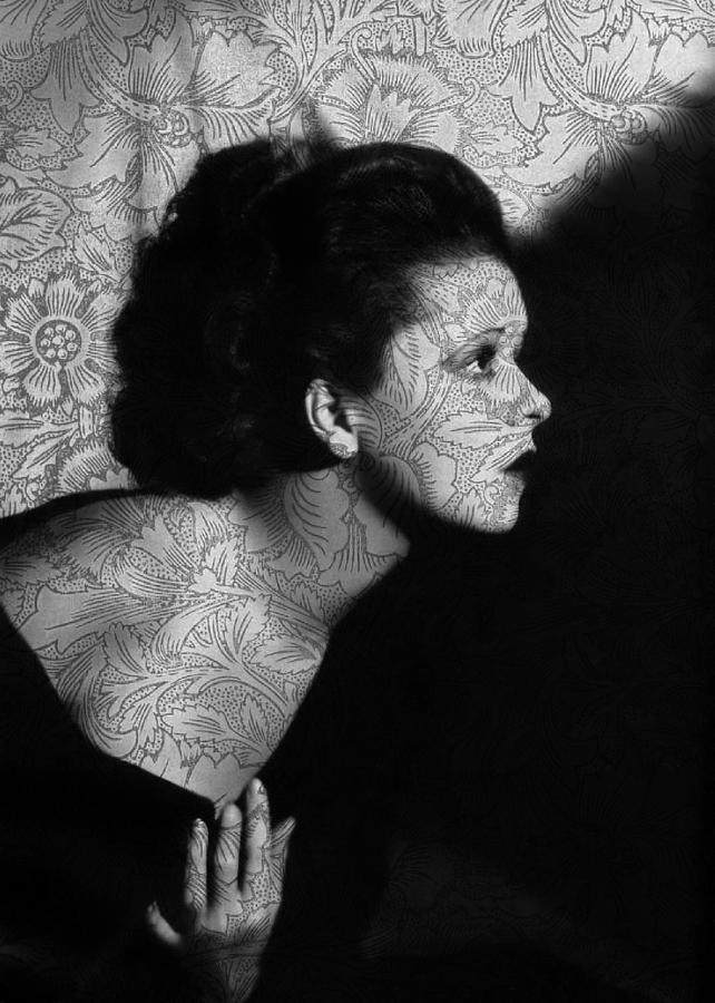 Clara Bow Digital Art - The Clara Bow Tattoo by Sarah Vernon