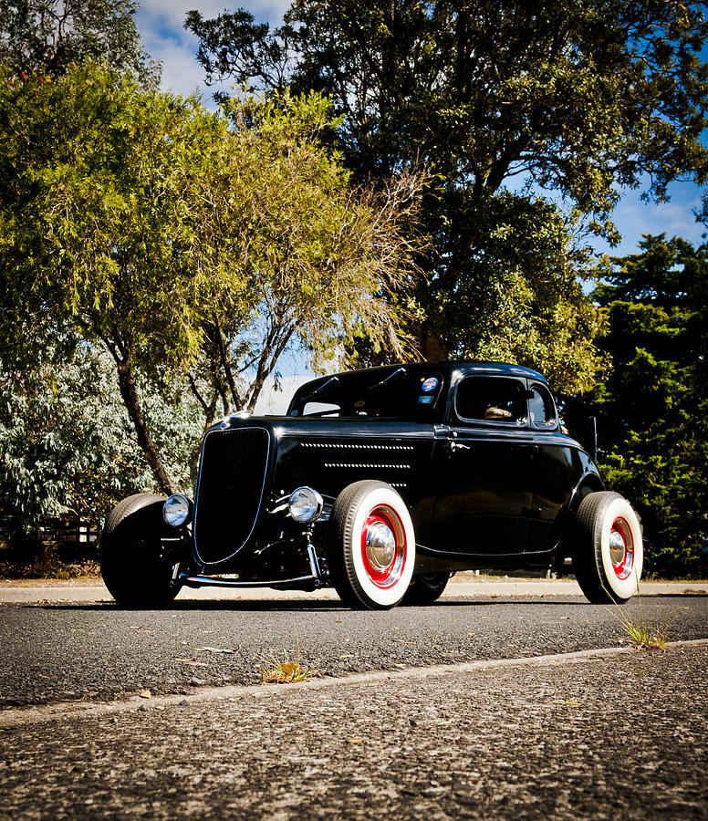 Ford Hot Rod Photograph - The Classic Hot Rod by motography aka Phil Clark