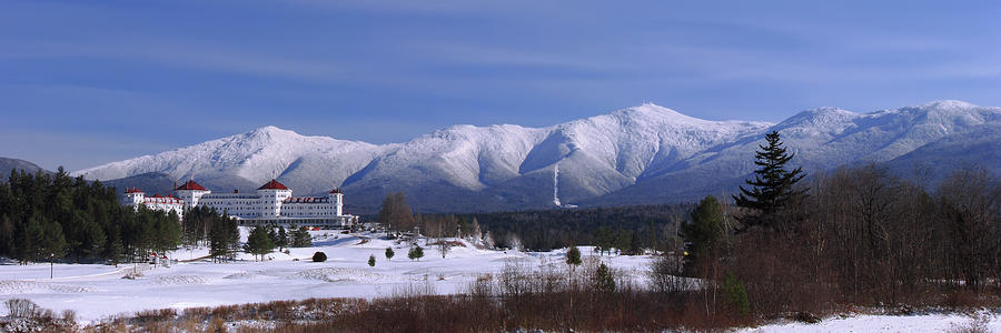 New Hampshire Photograph - The Classic Mount Washington Hotel Shot by Chris Whiton