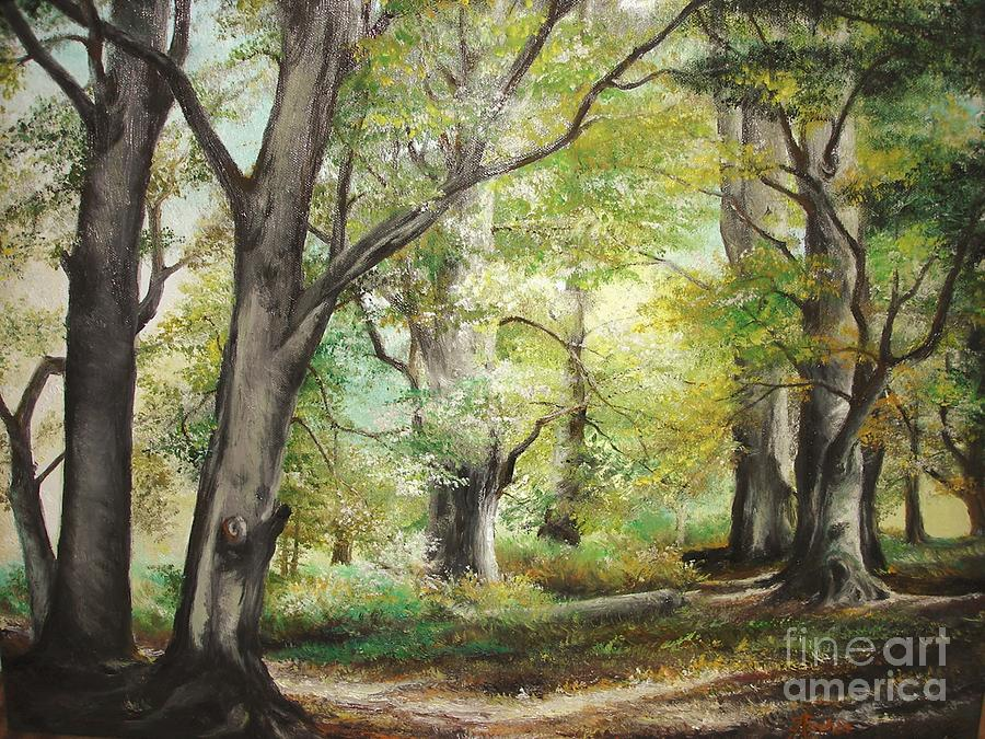 The Clearing Painting