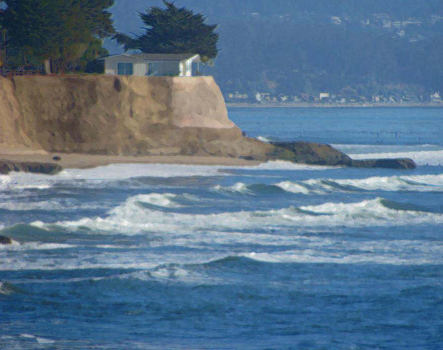 Santa Cruz Photograph - The Cliff House by Deana Glenz