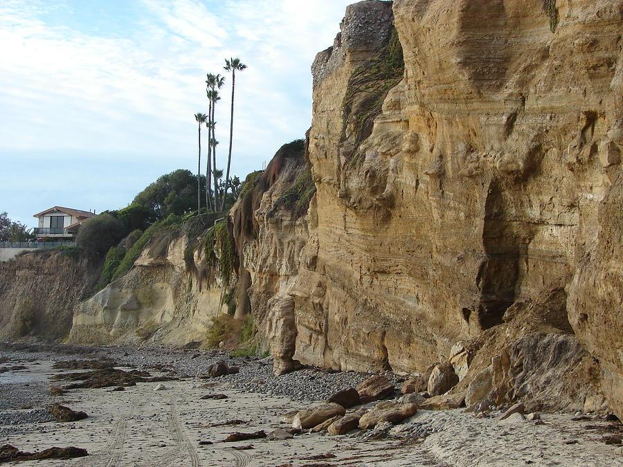 Cliffs Photograph - The Cliffs by John Wilson
