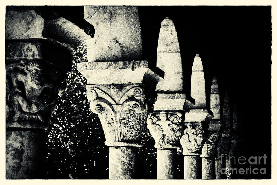 New York City Photograph - The Cloisters New York City by Sabine Jacobs