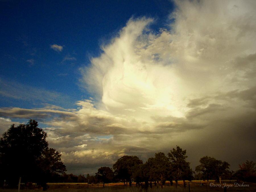 Cloud Photograph - The Cloud - Horizontal by Joyce Dickens