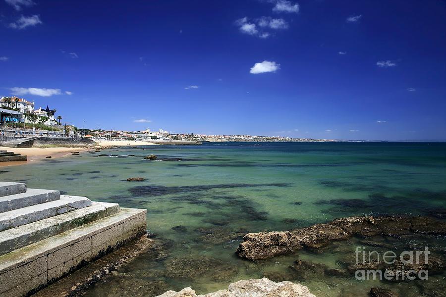 Estoril Photograph - The Coast Of Estoril by John Rizzuto