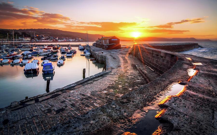 The Cobb, Lyme Regis, Dorset, England Photograph by Joe Daniel Price