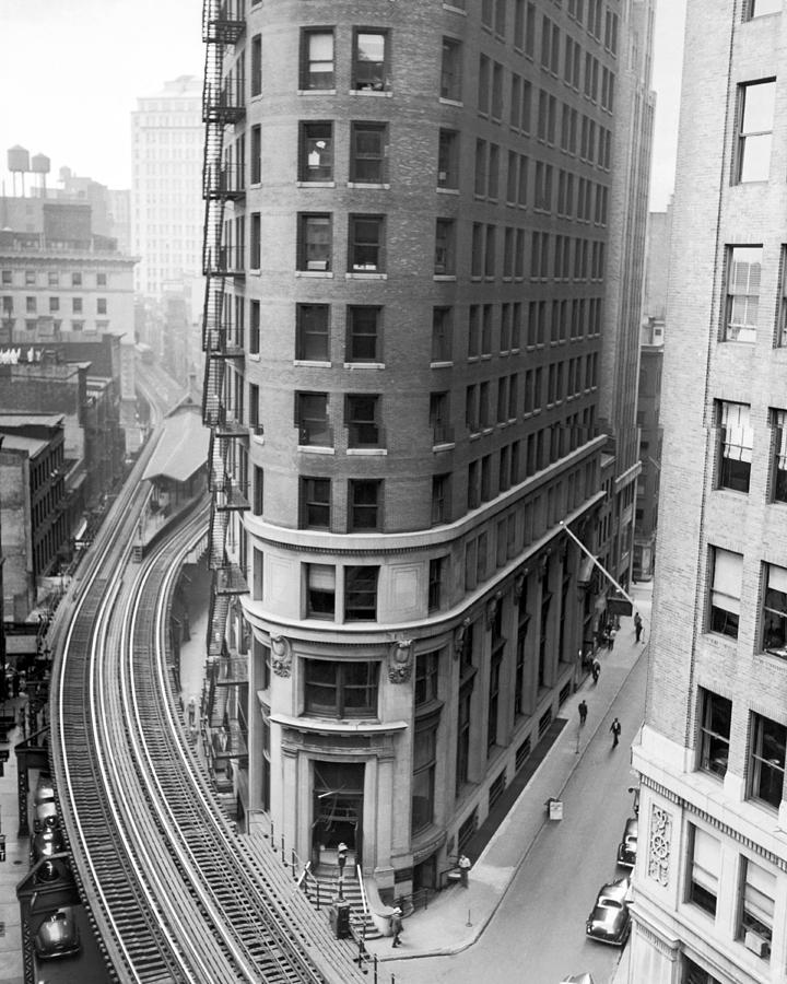 1939 Photograph - The Cocoa Exchange Building  by Underwood Archives