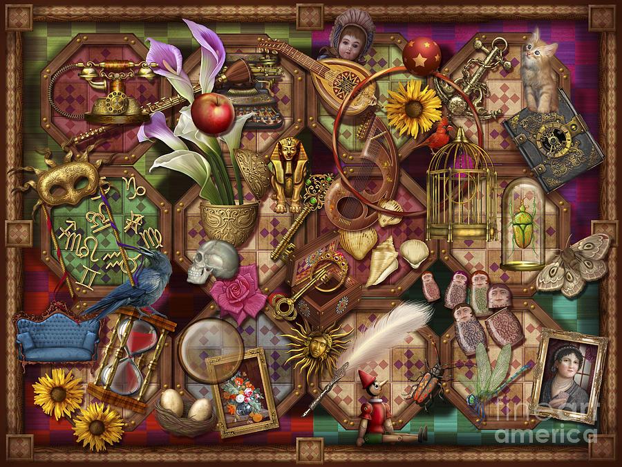 Toys Digital Art - The Collection by Ciro Marchetti