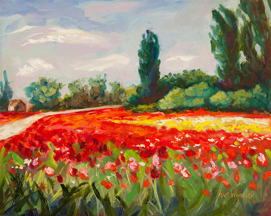 The Color Field Painting By Eve Wheeler