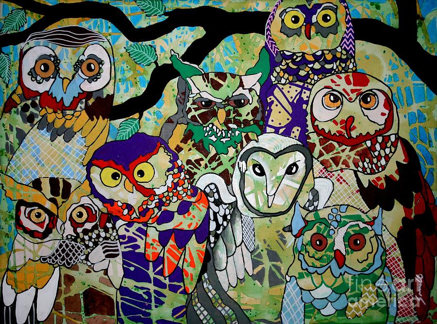 Owl Photograph - The Color Of Owls by Amy Sorrell