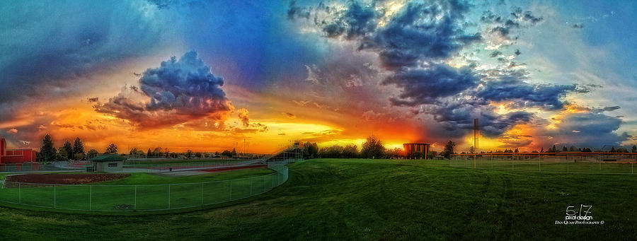 Sunset Photograph - The Color Of Shadle Park by Dan Quam
