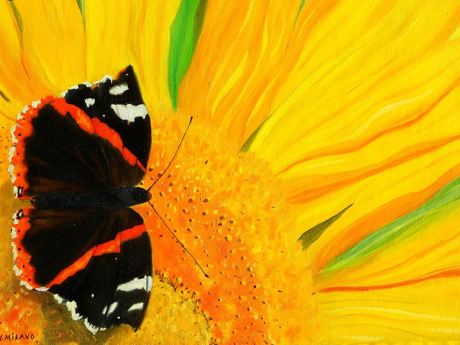 Wildlife Painting - The Color Of Summer by Nancy Milano