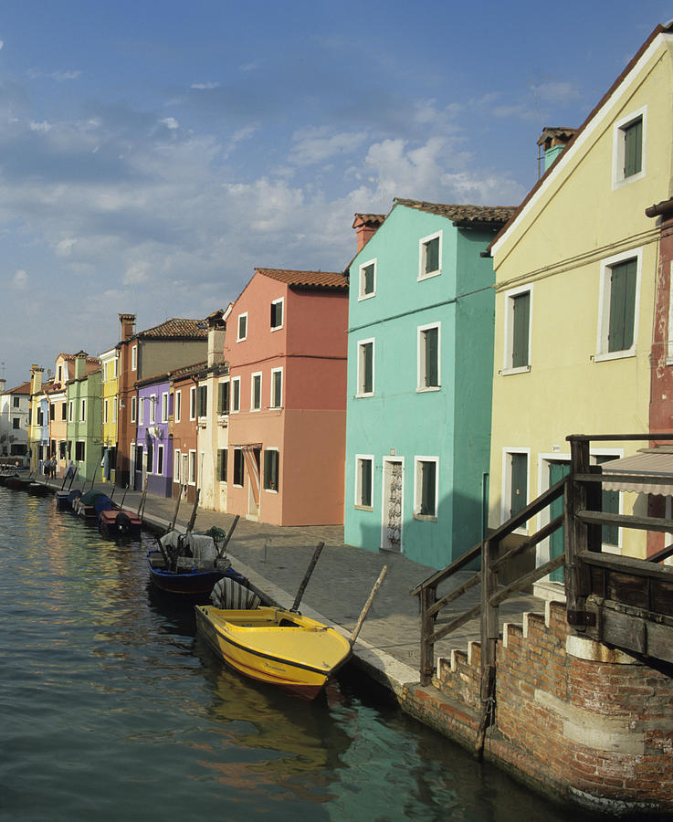 Italy Photograph - The Colors Of Burano by Susan Rovira