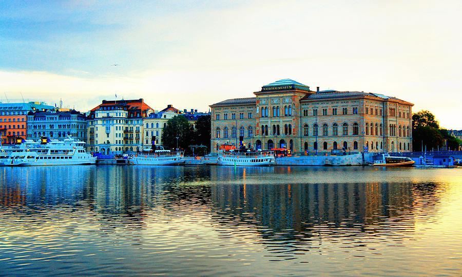 Landscape Photograph - The Colors Of Stockholm by Jenny Hudson